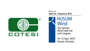Cotesi will attend at Husum Wind 2019